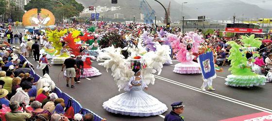 Coso del Carnaval de Santa Cruz de Tenerife. Foto: webtenerife.com