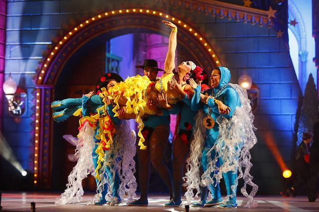 Grimassira Maeva, drag ganador de la Gala Drag Queen 2014 del Carnaval de Las Palmas de Gran Canaria. Foto: lpcarnaval.com