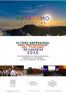 Cartel Futurismo Canarias